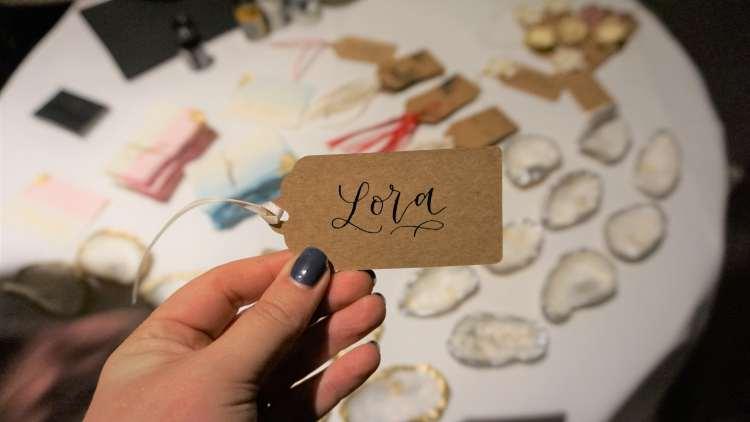 LETTERS BY JULIA HANDLETTERING CALLIGRAPHY BLOGGERS FESTIVAL SCARLETT LONDON BLOGGER EVENT LONDON CONRAD HOTEL -min