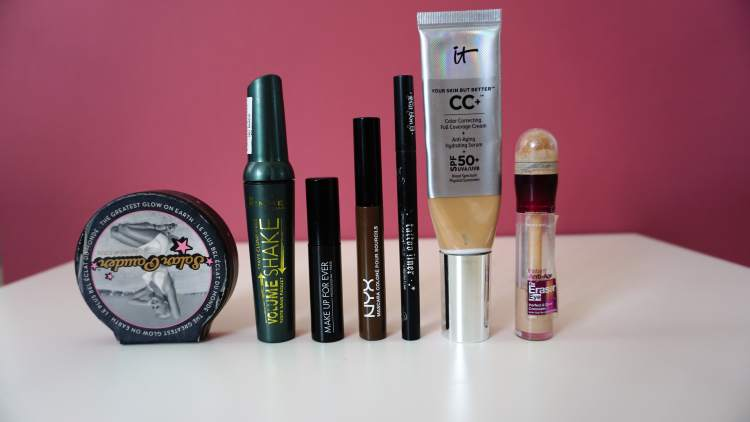 SHOP MY STASH AUTUMN EDITION NYX RIMMEL IT COSTMETICS MAYBELLINE-min