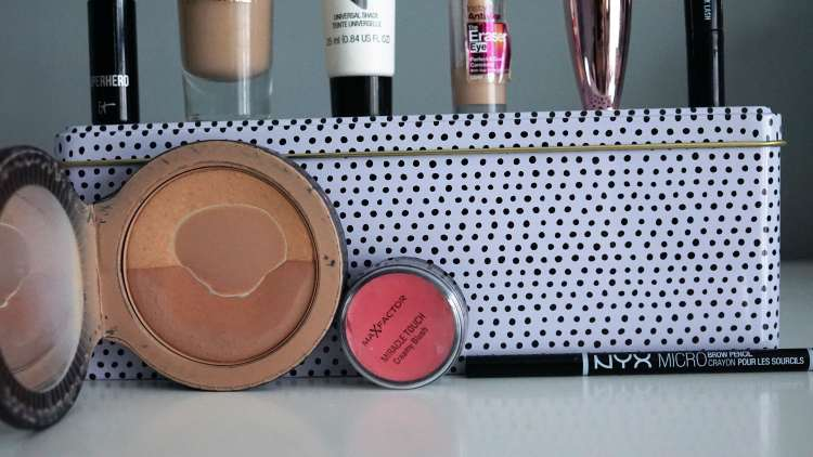 PROJECT PAN 2018 SOAP AND GLORY BRONZER MASCARA MAYBELLINE MAC NYX MICRO PENCIL YSL SERUM FOUNDATION 1-min