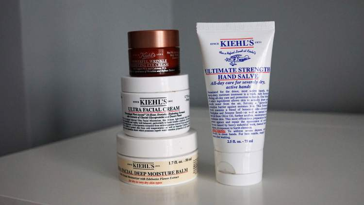 WINTER SKIN ESSENTIALS KIEHLS EYE CREAM ULTRA FACIAL CREAM ULTRA FACIAL BALM -min