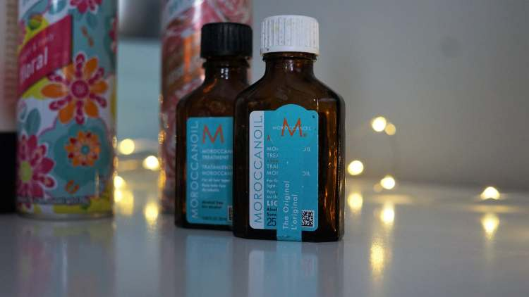 HAIRCARE EMPTIES POST WOULD I BUY AGAIN MOROCCAN OIL -min